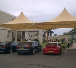 Umbrella Car Parking Photo 6