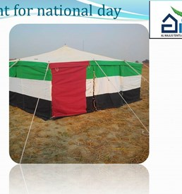 Canvas Tent for National Day